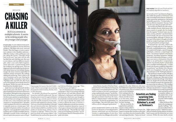 CHASING A KILLER, Page: 50 - MARCH 17, 2014 | Maclean's
