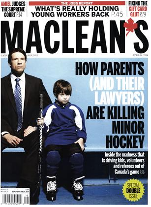 Cover for the April 7 2014 issue