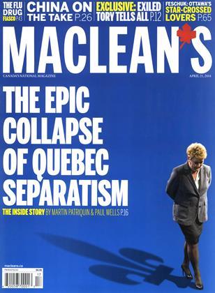 APRIL 21, 2014 | Maclean's