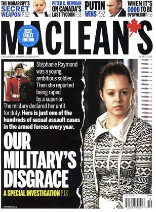 MAY 5, 2014 | Maclean's