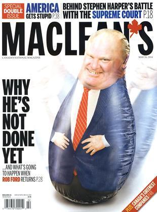 MAY 26, 2014 | Maclean's