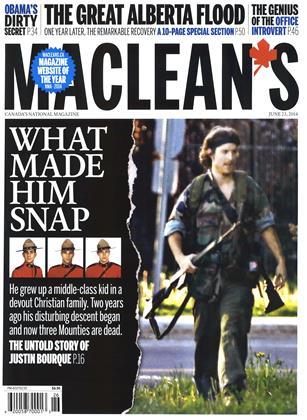 >JUNE 23,2014 | Maclean's