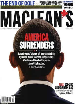 Cover for the July 14 2014 issue