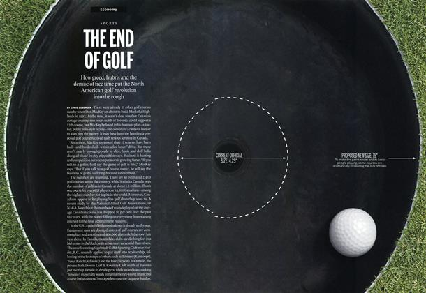 THE END OF GOLF