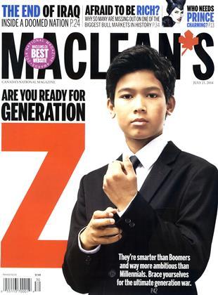 JULY 21, 2014 | Maclean's