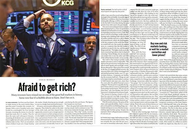Afraid to get rich?