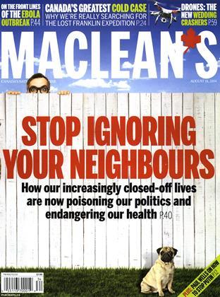 AUGUST 18, 2014 | Maclean's
