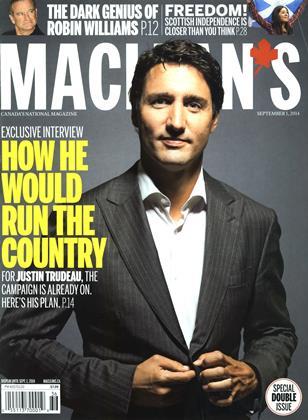 SEPTEMBER 1, 2014 | Maclean's