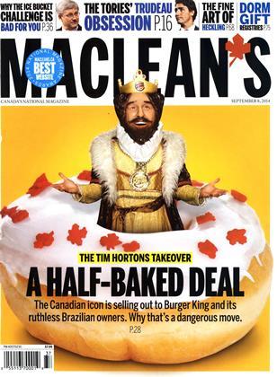 SEPTEMBER 8, 2014 | Maclean's