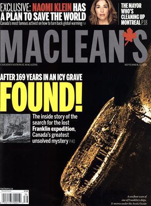 SEPTEMBER 22, 2014 | Maclean's