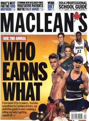 SEPTEMBER 29 , 2014 | Maclean's