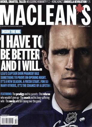 OCTOBER 13, 2014 | Maclean's