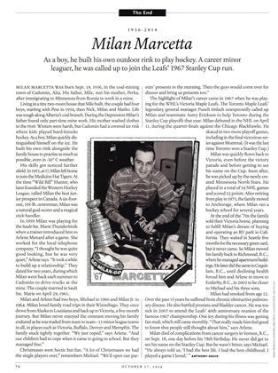 Milan Marcetta, Page: 74 - OCTOBER 27' 2014 | Maclean's