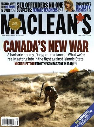NOVEMBER 3, 2014 | Maclean's