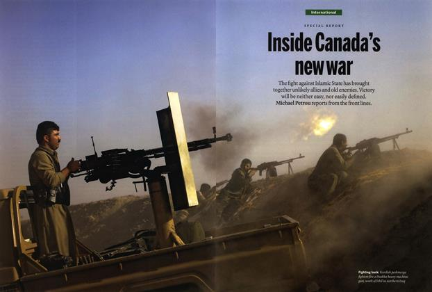 Inside Canada's new war