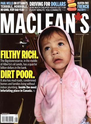 NOVEMBER 24, 2014 | Maclean's