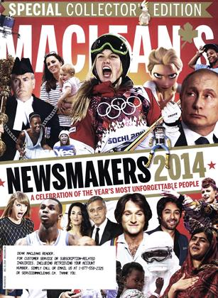 Cover for the December 8 2014 issue