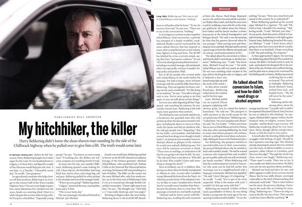 My hitchhiker, the killer