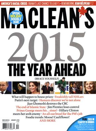 Cover for the December 29 2014 issue