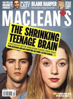JANUARY 12, 2015 | Maclean's
