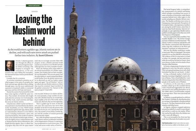 Leaving the Muslim world behind