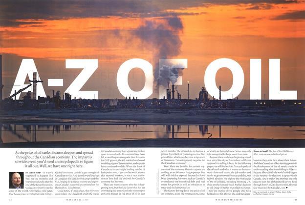 A-Z OF OIL