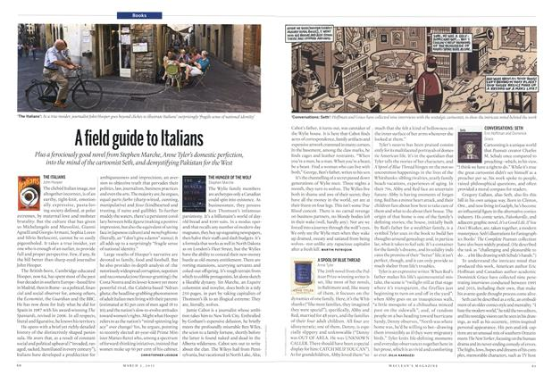 A field guide to Italians