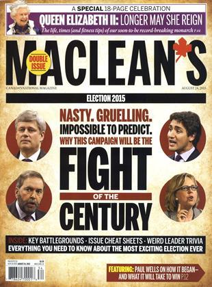 AUGUST 24, 2015 | Maclean's