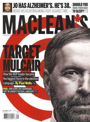 SEPTEMBER 14, 2015 | Maclean's