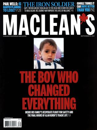 SEPTEMBER 21, 2015 | Maclean's