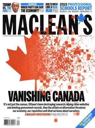 SEPTEMBER 28, 2015 | Maclean's