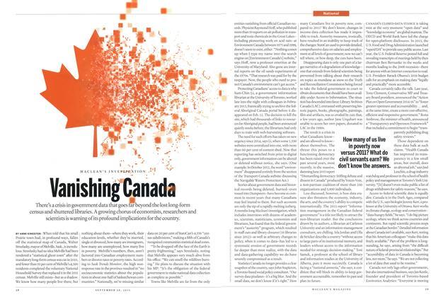 Vanishing Canada