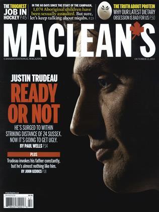 OCTOBER 12, 2015 | Maclean's