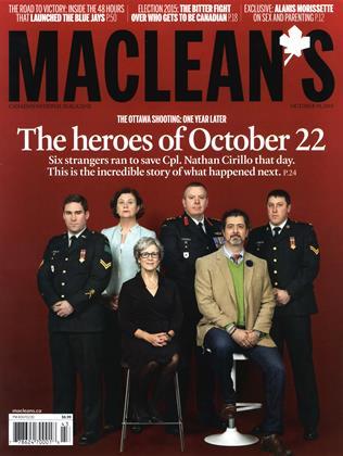 OCTOBER 19, 2015 | Maclean's