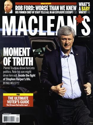 OCTOBER 26, 2015 | Maclean's