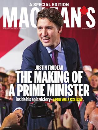Cover for the November 2 2015 issue