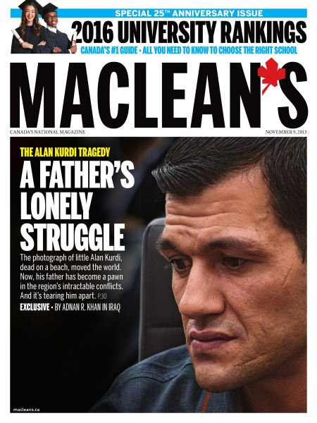 Issue: - November 9 2015 | Maclean's