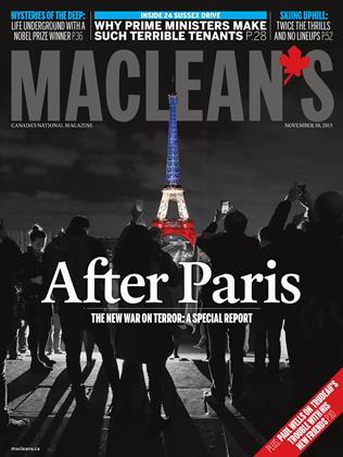NOVEMBER 30, 2015 | Maclean's