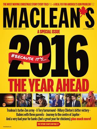 JANUARY 4,2016 | Maclean's