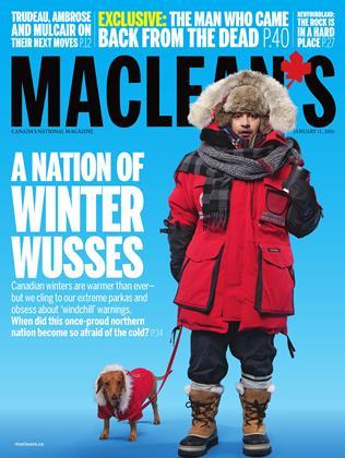 JANUARY 11, 2016 | Maclean's