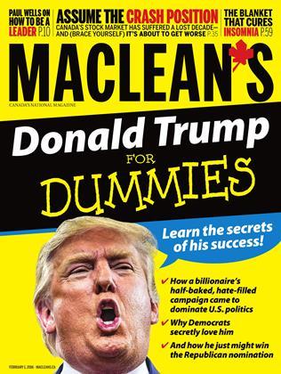FEBRUARY 1, 2016 | Maclean's