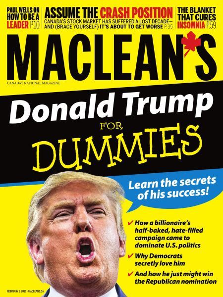 Issue: - February 1 2016 | Maclean's