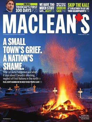 FEBRUARY 8, 2016 | Maclean's