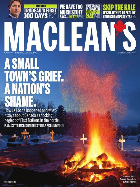 Issue: - February 8 2016   Maclean's