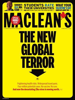 FEBRUARY 22, 2016 | Maclean's