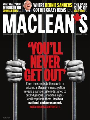FEBRUARY 29, 2016 | Maclean's