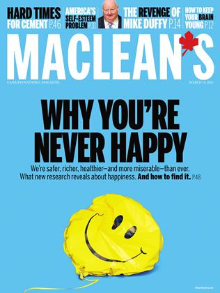 MARCH 14, 2016 | Maclean's