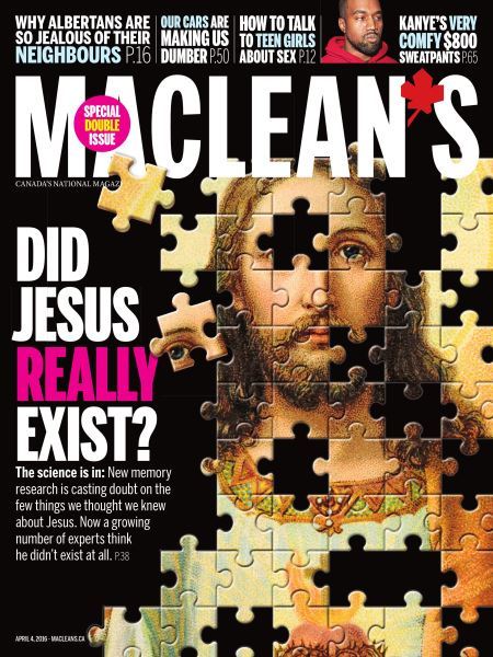 Issue: - April 4 2016   Maclean's