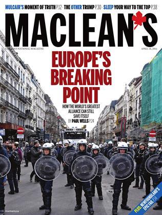 APRIL 18, 2016 | Maclean's