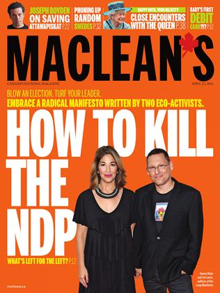APRIL 25, 2016 | Maclean's